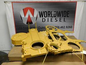 CAT-3406B-Gear-Case-Front-Back-Plate-Part-7C-4449