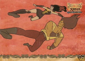 Hercules-Xena-HX9-Lucy-Lawless-as-Xena-in-action-insert-trading-card