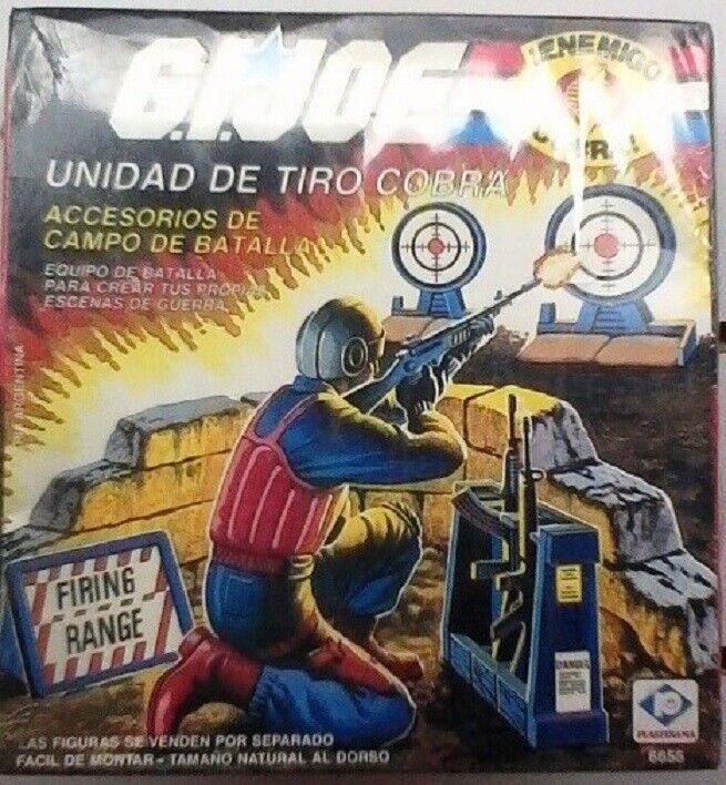 80 S vintage très rare Cobra Rifle Range plastirama Argentine Neuf dans sa boîte