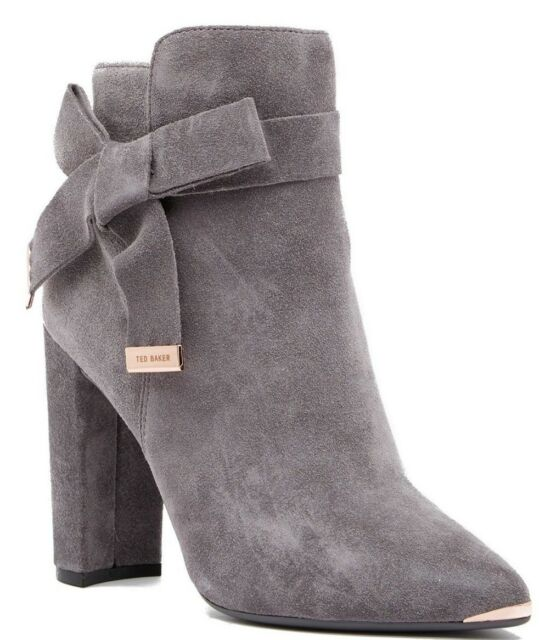 ec2162e81 Ted Baker London Sailly Suede Bootie Women's Ankle Boot Gray Size 10 ...