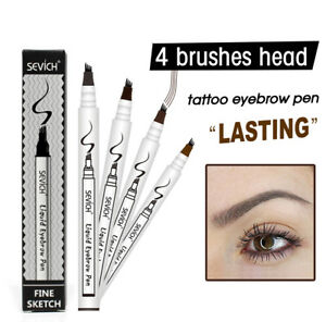 Music-Flower-Liquid-Eyebrow-Pencil-with-Four-Tips-Brow-Tattoo-Pen-Grey-Brown