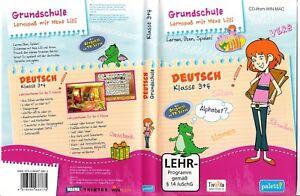 Lern-CD-Rom-fuer-Win-Mac-Grundschule-Lernspass-mit-Hexe-Lilli-Deutsch-3-4-Klasse