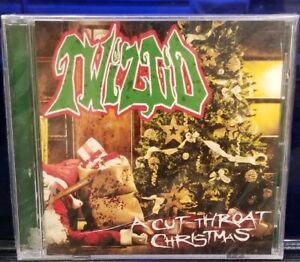 Twiztid-A-Cut-Throat-Christmas-CD-SEALED-rare-insane-clown-posse-dark-lotus