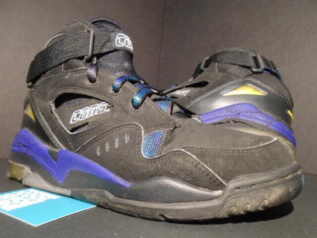 Origine 1993 CONVERSE REACT AEROJAM LARRY JOHNSON GRANDMAMA noir violet 839401 10.5