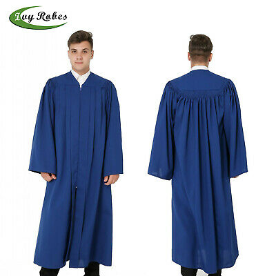 IvyRobes Adults Traditional Choir Stole with Embroidery Cross 60