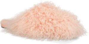 ccee7b2b253 Details about UGG Fluff Momma Mongolian Clog Slippers Women's (Size 7)  Tropical Peach