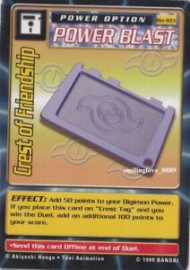DIGIMON-BOOSTER-SERIES-2-CARD-LOT-Bo-103-CREST-OF-FRIENDSHIP-4-COMMON-CARDS