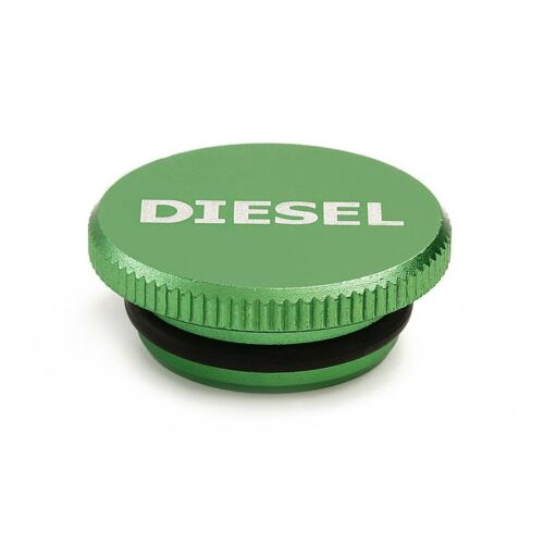 Bautopart Green Billet Aluminum Magnetic Diesel Fuel Cap for 2013-2016 Dodge ...