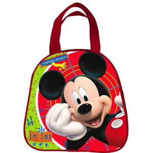 Mickey-Mouse-Clubhouse-Small-Red-Bag-Brand-New-AS8035