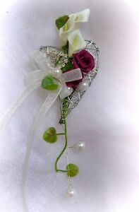 Edler Anstecker Hochzeit Hochzeitsanstecker Brautigamanstecker