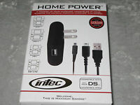 Intec Nintendo Ds Home Power Gaming Cables Plug Charge Continuous Play