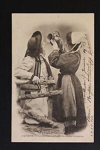 Postcard-Antique-CPA-Folklore-Breton