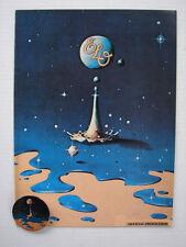 ELECTRIC LIGHT ORCHESTRA 81 TIME TOUR CONCERT PROGRAM BOOK & PIN JEFF LYNNE ELO