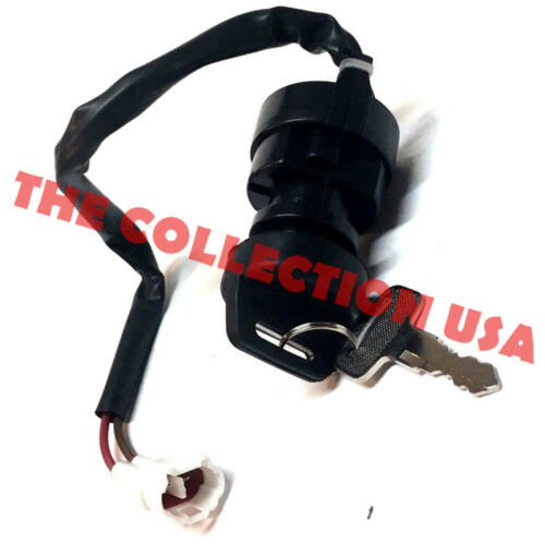 Ignition Key Switch Yamaha Grizzly 125 Yfm125 2004 05 06 07 08 09 10 11 2012 Atv