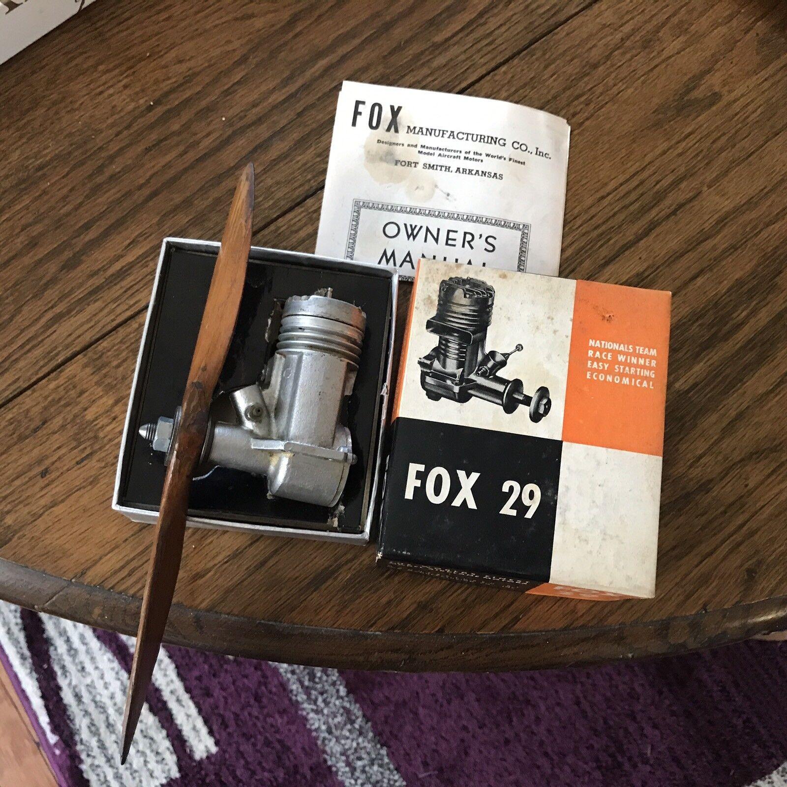 Fox 29 motor im kasten