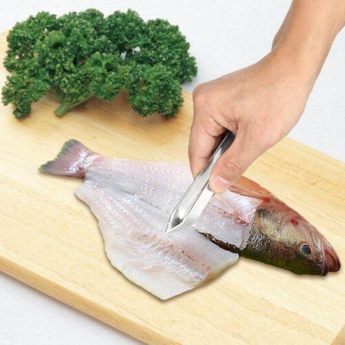 Ein Set Von 2 Professionellen Desareter Clips Aus Edelstahl Fisch Zangen O8F7 1X