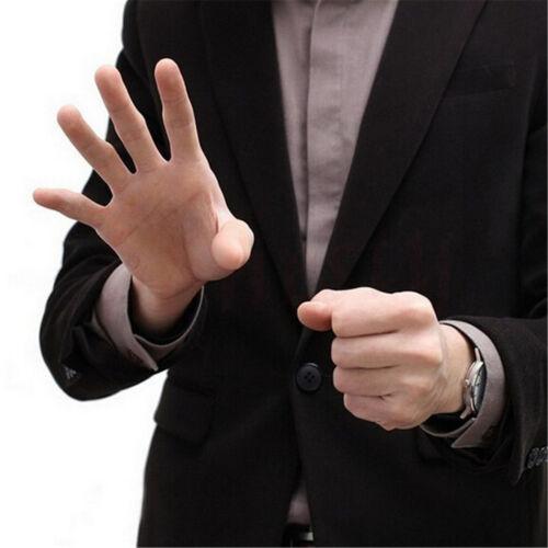 3Pcs Magic Thumb Tip Trick Rubber Close Up Vanish Appearing Finger Props Toys