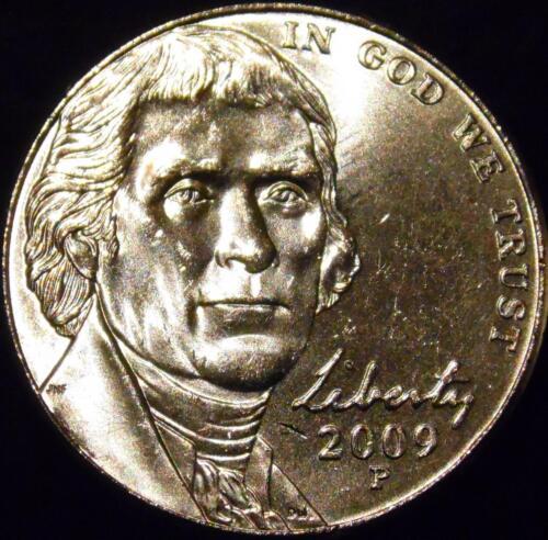 2009-P Jefferson Nickel Choice//Gem BU Uncirculated