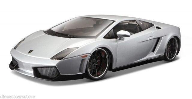 Lamborghini Gallardo Lp560 4 Silver 1 24 Maisto For Sale Online Ebay