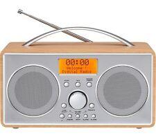 LOGIK L55DAB15 Portable DAB+/FM Clock RadIo