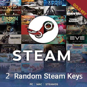 2-Premium-Gold-Random-Steam-Keys-PC-BONUS-Fast-Delivery