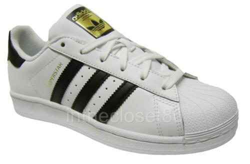 Oro C77154 Mujeres Blanco Adidas Juniors Shell Niñas Toe Superstar Chicos Negro qxtxAwTvX
