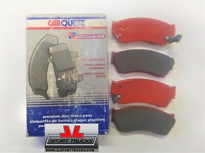 Front Semi Metallic Brake Pads D468Sm For Geo /& Isuzu 90-93 New S.Y.L