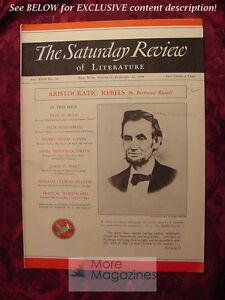 Saturday-Review-February-12-1938-BERTRAND-RUSSELL-ABRAHAM-LINCOLN