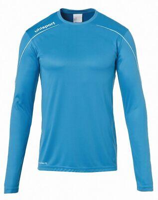 Activewear Tops Selfless Uhlsport Sport Football Soccer Training Mens Long Sleeve Jersey Shirt Top Crew N