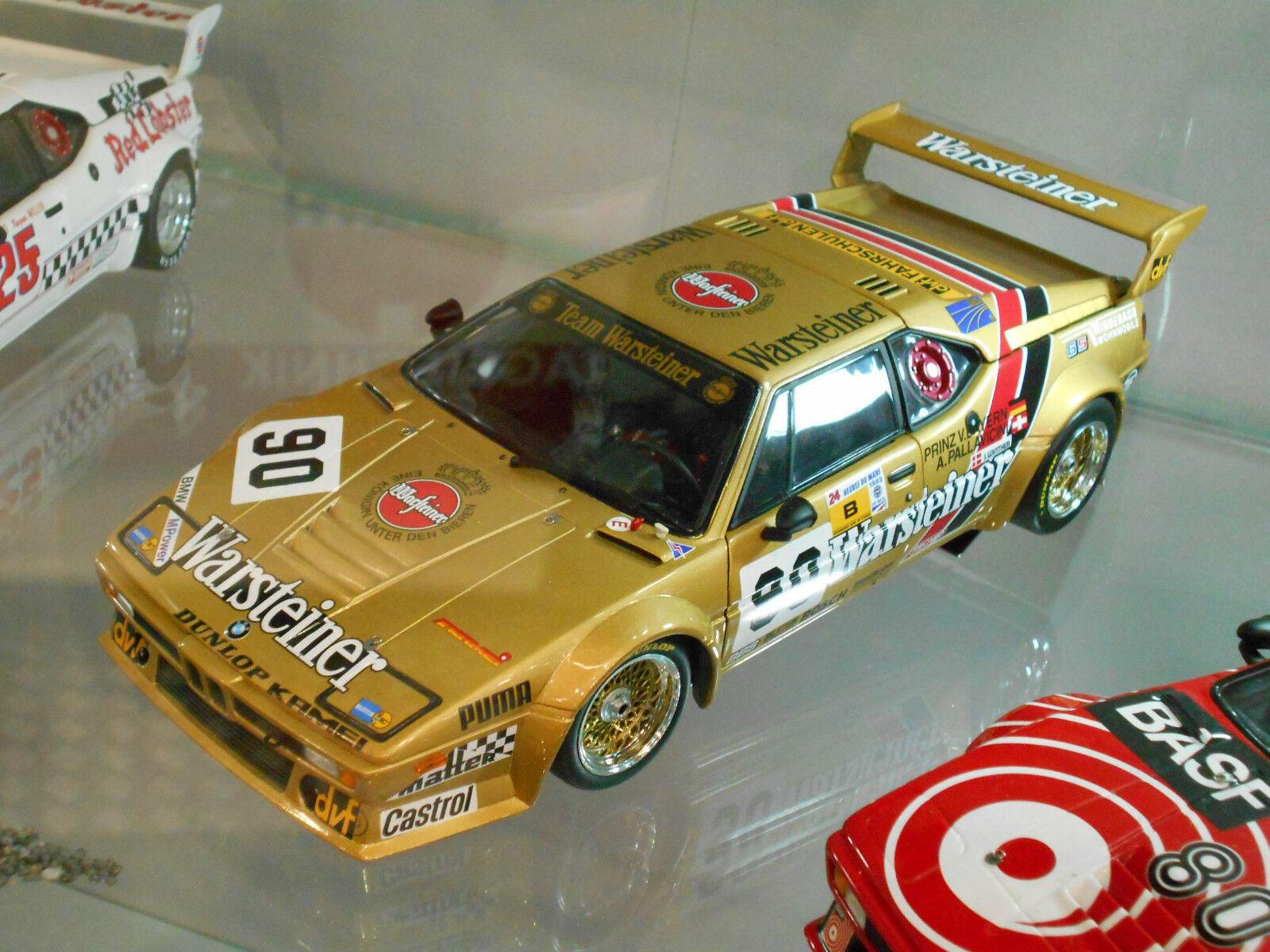 BMW M1 E26 Le Mans 1983 Warsteiner Team Brun Von Bayern Wint  90 Minichamps 1 18
