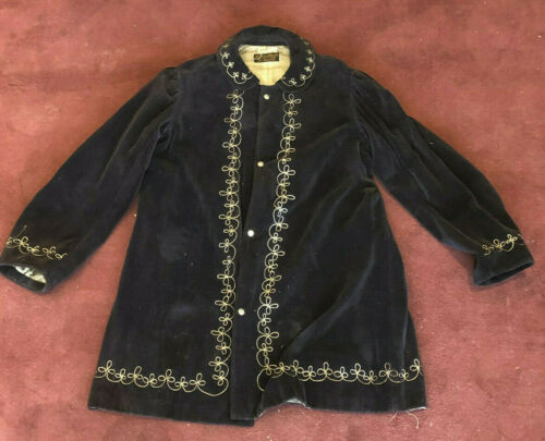 1900's Antique Vintage COSTUME Victorian Jacket Mi