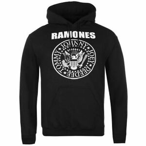 RMONES Hoodie Black Hooded Sweater