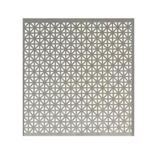 Metal Sheet 24 In X 36 In X 020 In Aluminum Union Jack Style Silver Metallic