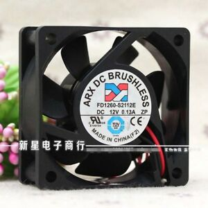 12Volt 30x30mm 40x40mm 50x50mm 60x60mm case 2wire /& 3wire Cooling fans
