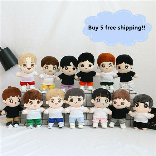 Hand-made Kpop EXO XOXO Oh Se Hun Doll Clothes Shirt Stuffed Short sleeve Gift
