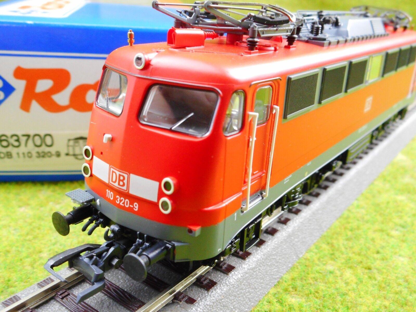 B11 ROCO h0 63700 E-Lok DB rosso 110 320-9 Luce Cambio Ovp Top