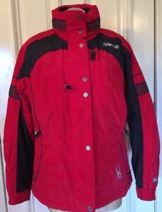 Sort Winter og Medium Størrelse Rød Farve Jacket Spyder Ski Kvinder Pqd86zzw
