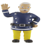 Bullyland Comansi Official Fireman Sam Toy Figure Cake Topper Toppers