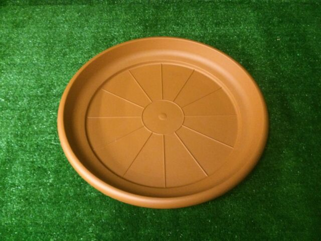 1 X 55cm Erica Plant Pot Saucer Terracotta Huge Large Giant Drip Watering Tray