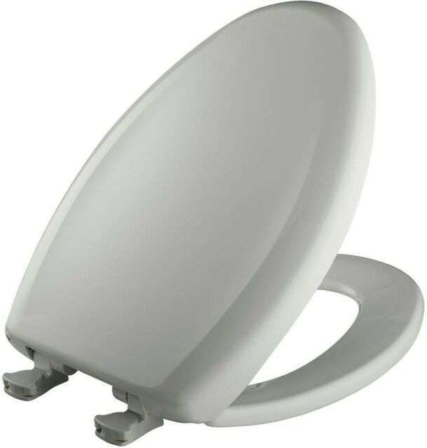 Sensational Toilet Seat Plastic Slow Close Sta Tite Elongated Closed Front Ice Gray Finish Ocoug Best Dining Table And Chair Ideas Images Ocougorg