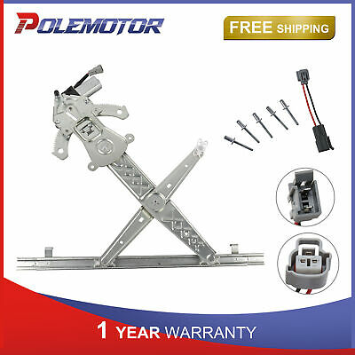 Power Window Regulator For 2004-2005 Ford Freestar Front Right Side With Motor