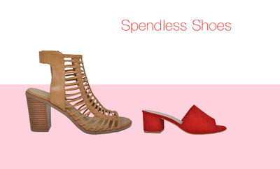 20% off at Spendless Shoes*