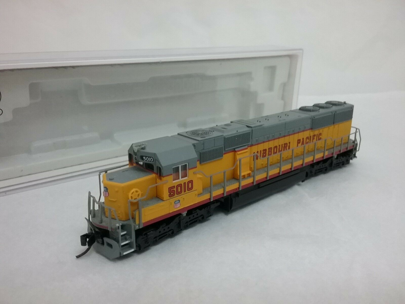 ATLAS N SD-50 Missouri Pacific Road Road Road Item DCC Installed e025d4