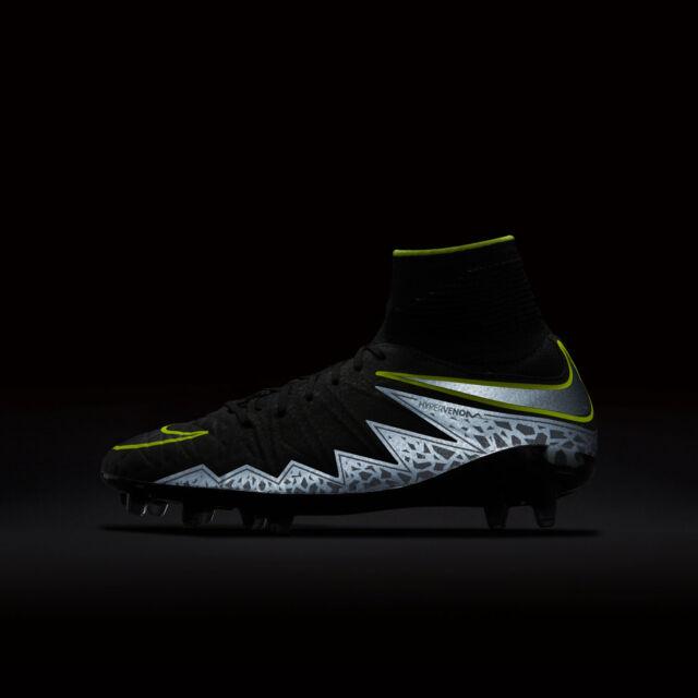 3c1f4abd95c UK 5.5 NIKE HYPERVENOM PHANTOM II AG-PRO Mens Football Boots BLACK EU 38.5  RARE