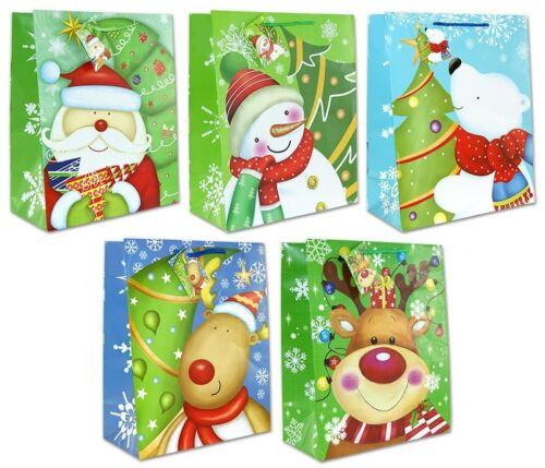 Geschenktüten Weihnachten 32x26x13 Weihnachtstüten Geschenktasche 22-0310-3