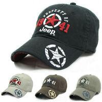 Jeep Men Women Hat Baseball Cap Golf Ball Hat Casual Sun Cap Outdoor Sports Hat