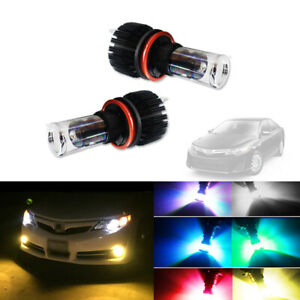 For Toyota Camry 2007-2014 2X ICE Blue 8000K High Power COB LED Headlights Bulb