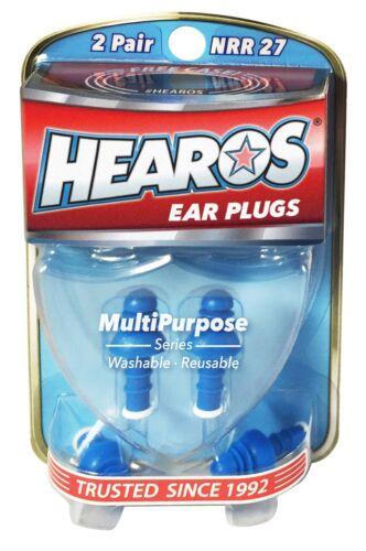 Hearos Multi Purpose Reusable Ear Plugs
