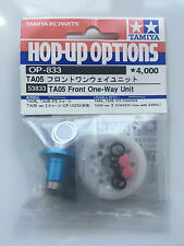 Tamiya 53833 TA05 Front One-Way Unit (TA-05/TA05-IFS) NIP