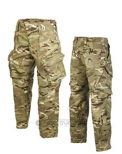 British-Army-PC-Estilo-Pantalones-Mtp-Multicam-Combate-Edicion-Airsoft-SAS-Para